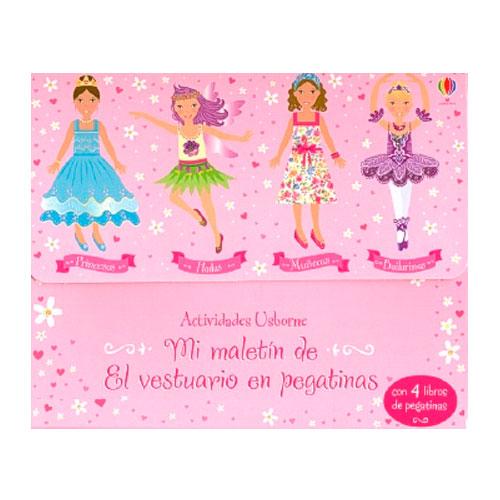 32cd506ea Mi maletín de princesas, hadas, muñecas y bailarinas. El vestuario en  pegatinas (set de 4 libros)
